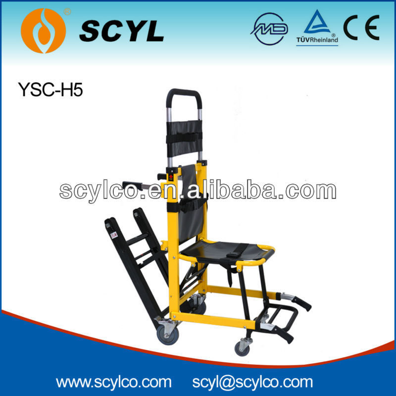 YSC-H5 Aluminum Alloy Emergency Rescue Foldable Stair Chair,Evacuation Chair
