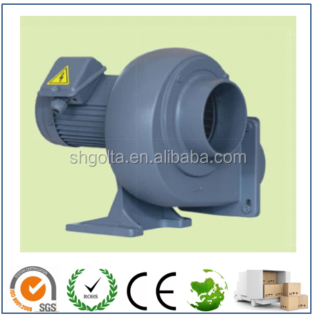 1~20 HP Electric Fan Industrial Air Blower Turbo Fan with CE Motor