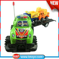 Free sample kid toy tow truck plastic friction power toys