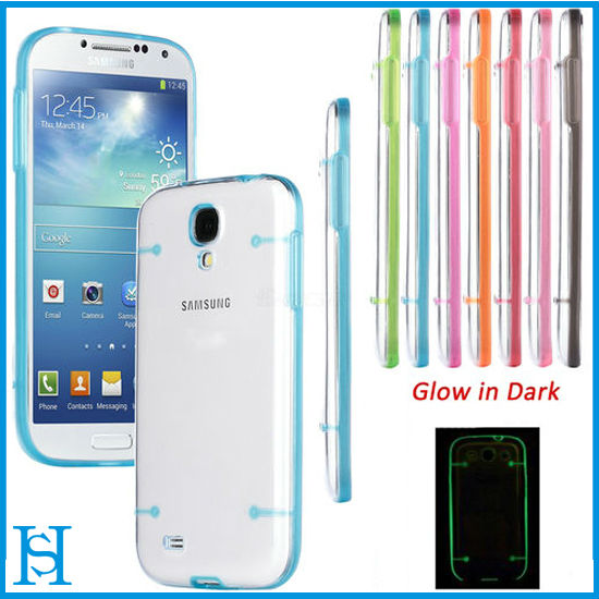 Soft Gel Skin Hard Cover Transparent Case For Samsung Galaxy S4 S 4 IV i9500