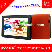 Popular 7'' HD dual core android tablet momo