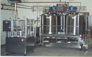 Yogurt Processing Plant, Batch-Pasteurizer And Filling Mach