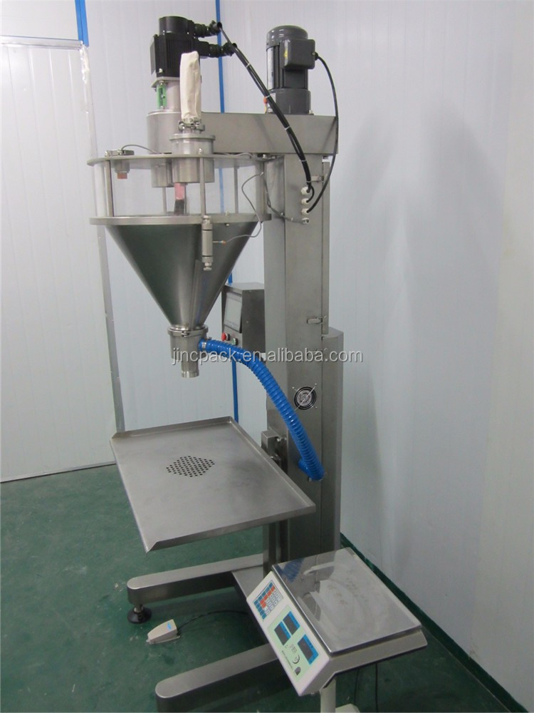 Powder filling machine semi automatic powder packing machine price
