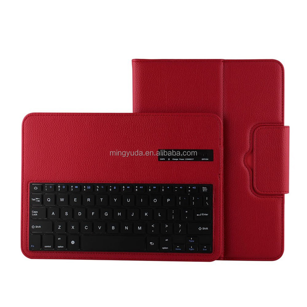 Hot Selling 2 in 1 Removable Bluetooth Keyboard Case for samsung galaxy tab 4 10.1