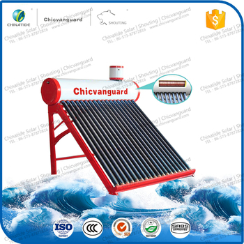 China Pre-Heated Pressure Rooftop Solar Water Heater System