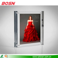 Transparent rectangle high quality acrylic photo frame