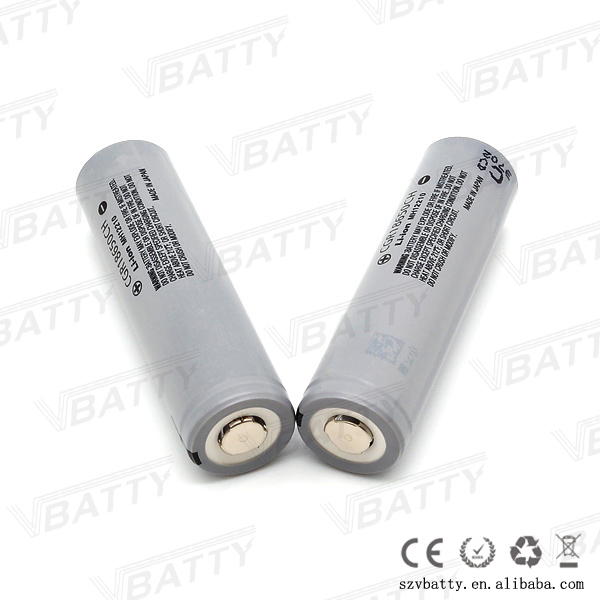 Cylindrical lithium rechargeable battery cell CGR18650CG CGR18650CH 3.6V 2250mAh