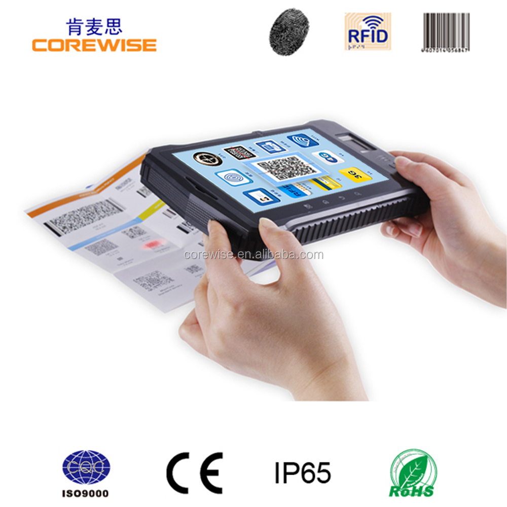 2015 Besting selling & High quality Tablet PC with RFID/Barcode Scanner/biometric fingerprint door lock