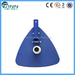 Triangular liner swimming pool accessories vacuum head with swivel