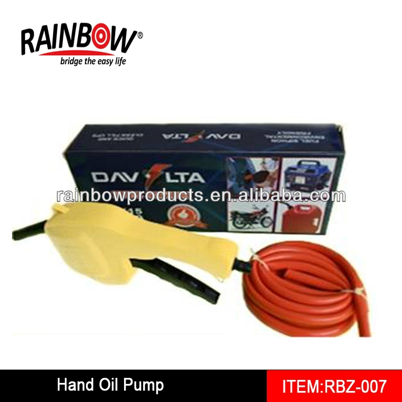 RBZ-007 Hand Operated Liquid Transfer Siphon Pump Perfect to Pump Water or Liquid