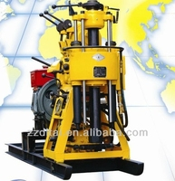 100m 150m hot selling core drilling machine,water well drilling equipment,water well drilling rig