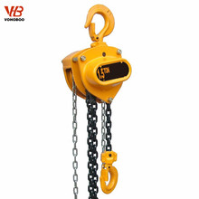 China manufacture hs type chain block manual hoist for lifting people