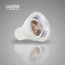 Discount Each Order European Hot high cri>95 sharp cob gu10 led 3W 5w 6W 2700K 5000K dimmable high cri>95 sharp cob gu10 led