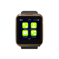 2015 newest innovative products smart wearable device MTK2502 smart watch
