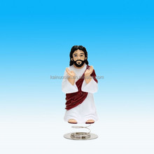 Custom polyresin/resin Jesus Christ Dashboard Bobble Head Figurines