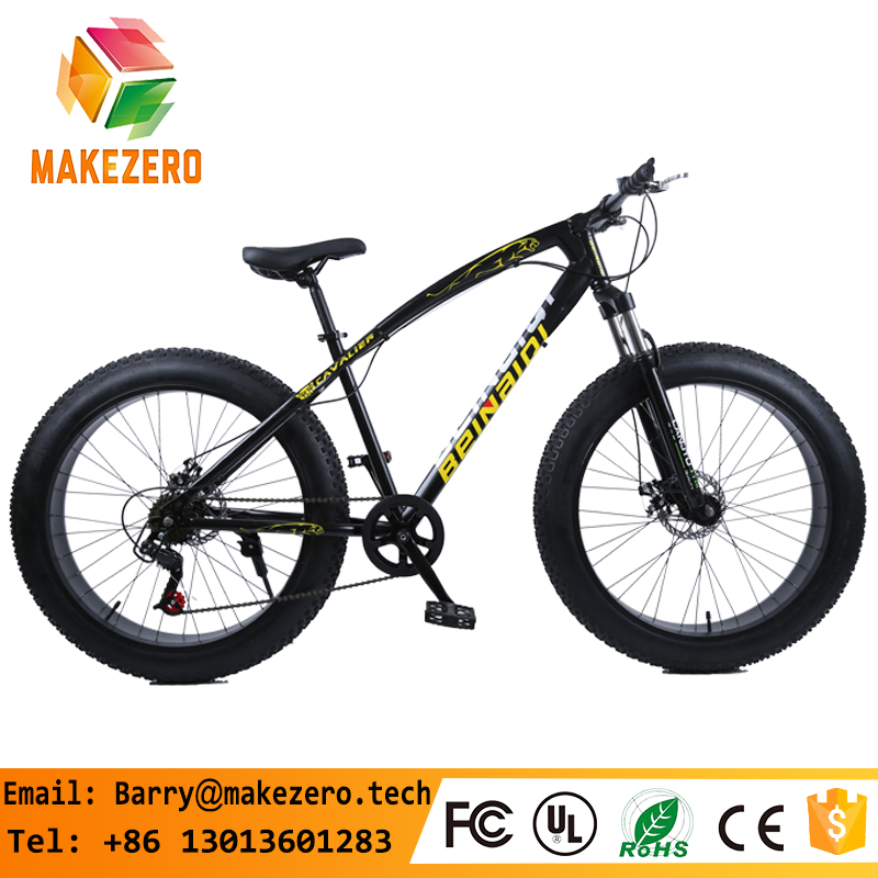 portable Fat bike 21/24/27 speed MTB aluminum alloy 26inch fat tyre