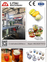 TQC-650B full Automatic Ce Certificate Plastic Disposable Glass thermoforming Machine