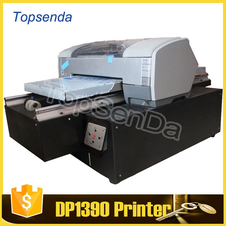 2017 digital a3 size digital t-shirt printer direct to garment