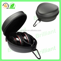 Protective hard PU cover eva custom headphone case