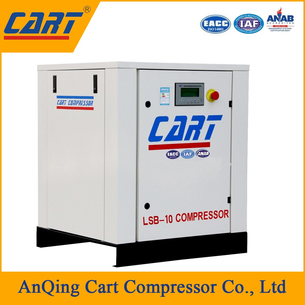 30kw 40hp direct driven paper packaging screw air compressor for printing factory