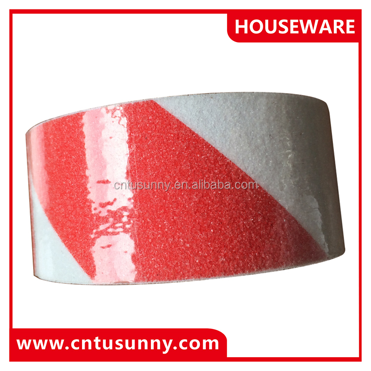 colored adhesive pvc ant slip warming tape for slippery stairs
