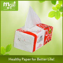 Top quality Newly small box facial tissue , jumbo roll facial tissue