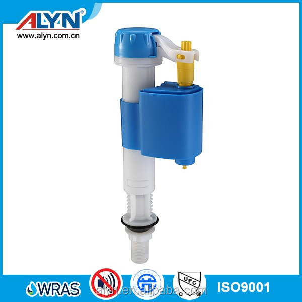 Patent desing-convertible toilet tank fittings plastic water fill(inlet)valve