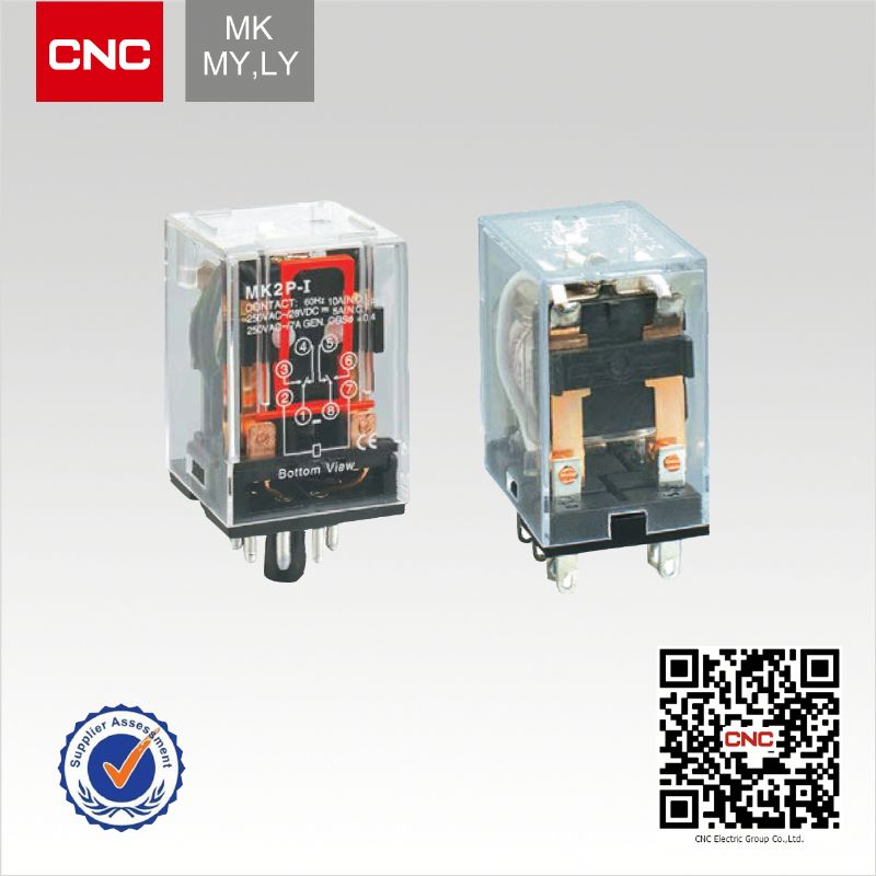 Stable performance MK MY,LY relay coil voltage 48v