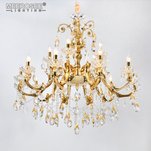 MEEROSEE Latest discount during October CE approval marble crystal chandelier light with 5-star praise Zhongshan Factory MD8504