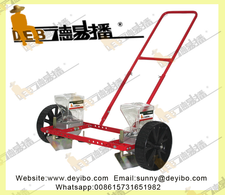 manual high precision onion seeding farm machine/2 row corn seeding agriculture farm machine