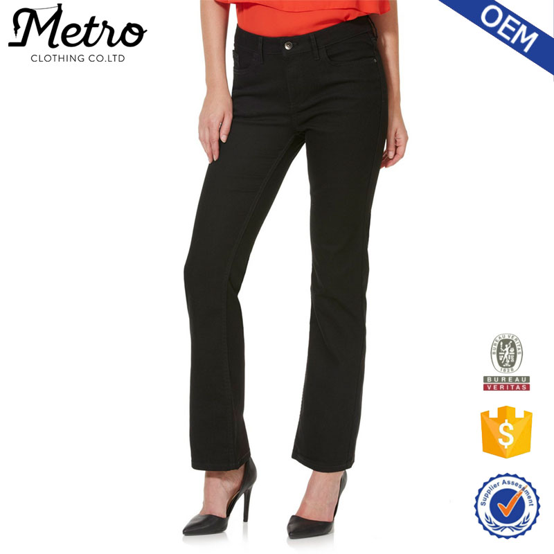 OEM Service women new model jeans by Professional Jeans Factory