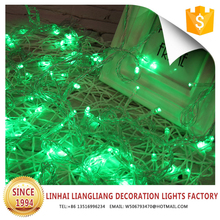 wholesale good quality green icicle dripping indoor outdoor christmas light decorations