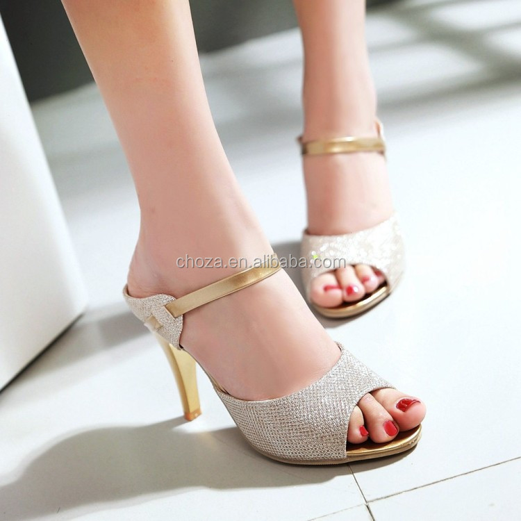 C71753A 2016 New Style High Heels Elegant Wedding Shoes Bridal