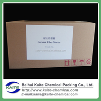 Ceramic fiber paste, Moldable fire cement