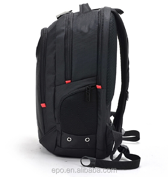 2015 fashion best selling 15.6 inch black laptop backpack for business