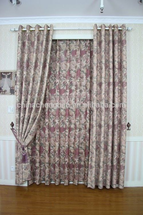 energy saving window shades spring shades flocked floral fabric