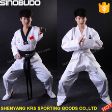 Best quality taekwondo uniform for WTF/ITF taekwondo uniform
