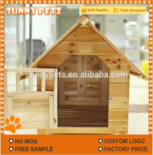 Wooden Pets Kennel Fashion Luxury Solid Wood Pet House
