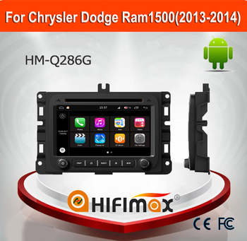 HIFIMAX Android 7.1 car dvd player for Dodge Ram1500 2014 2 din car dvd player for Dodge Ram1500 2014 car radio