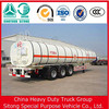 Sitong trailers 3 Axle 45000 liters petroleum tank semi trailer for sale