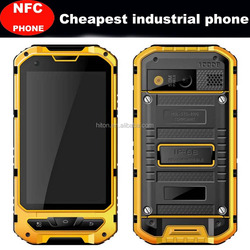 4.0 Inch IP68 Android 4.4 Quad Core IPS Screen Dual SIM Card Rugged Smart Mobile Phone