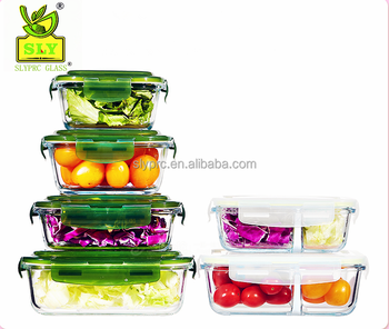 glass bento lunch box meal food storage lunch box with divider glass lunch box buy glass bento. Black Bedroom Furniture Sets. Home Design Ideas