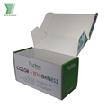 Professional Custom White Paper Cardboard Corrugated Folding Carton Box