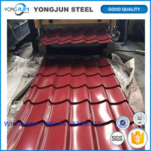 PPGI PPGL GI GL for black corrugated metal roofing sheet
