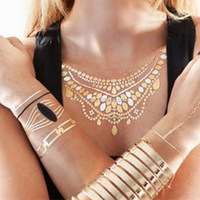 Fake Jewelry temporary tattoo China Wholesale