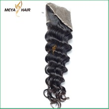 Natural Color 100% pure Peruvian Raw Hair , Loose Wave texture Full Lace Frontals with cuticle hair