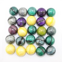 Hot new products mixed type Metal colour high bouncing rubber ball