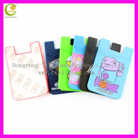 Dongguan factory supply promational gift fashion silicone wallet/ Silicone card holder wallet