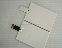 usb visit card with your own logo ,credit card usb drive 64gb