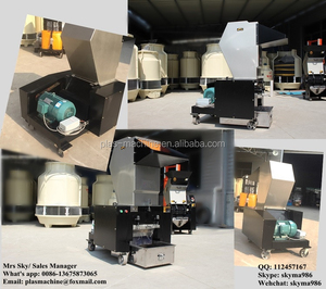 20HP waste plastic PET bottle crusher recycling machine price in India